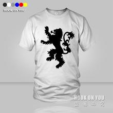Game of Thrones Men T Shirt House Lannister T-Shirt casual tees Women Men film cotton o neck black white grey yellow blue
