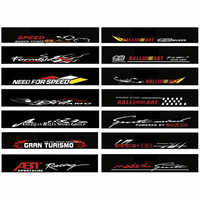 Waterproof Auto Car Front Window Windshield Decal Sticker For Honda Civic For Camry For Ford Focus - Car Styling