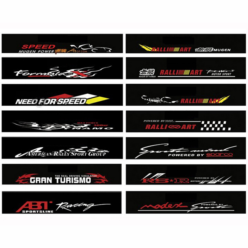 Car Windshield Decals PromotionShop For Promotional Car - Car window decal stickers sports