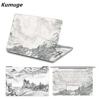 Laptop Sticker For Xiaomi Mi Air 12 13 Chinese Style Painting Vinyl Decal Skin For Xiaomi