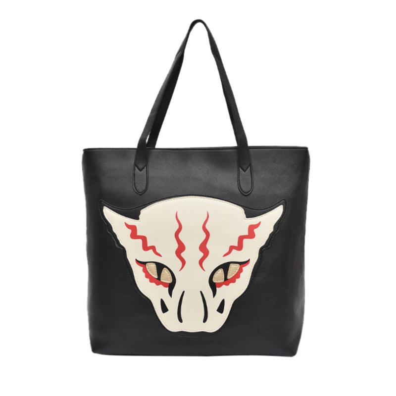 MOJOYCE 2017 New Shopping Bag Ladies Monster Design Women Leather Handbags Large Capcity Womens Shoulder Hand Bags Tote