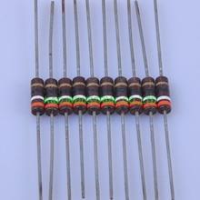 10pcs Carbon Composition vintage Resistor 0.5W 39R ohm 5 % цена