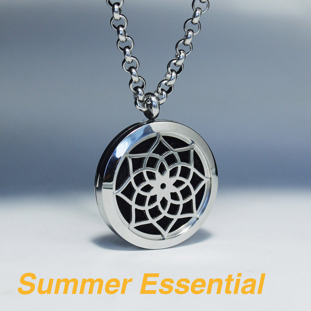 circular female punk prevent item pendants pendant lockets pattern stainless diffusion jewelery love fashion from aromatherapy locket necklace hollow box divergence taste male jewelry in essential oil sweat steel oils perfume