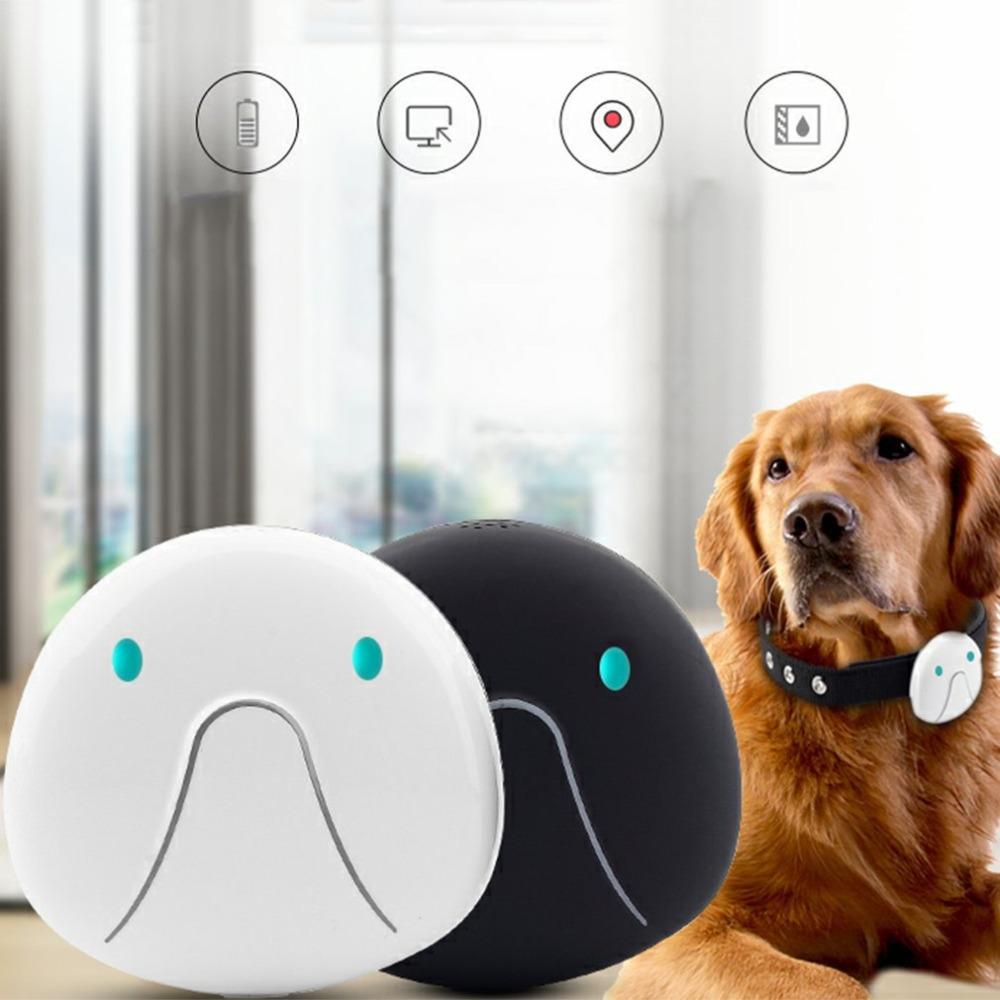 Waterproof Pet Dog Cats GPS Tracking Locator Pet Anti Lost Real Time Collar Professional GPS GSM Dual Tracker Pet Supplies
