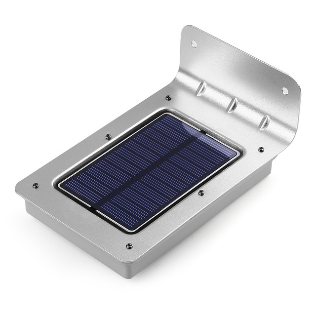 16 LED Solar New Generation LederTEK Outdoor Solar Powered PIR Motion  Sensor Light Wall Lights Security