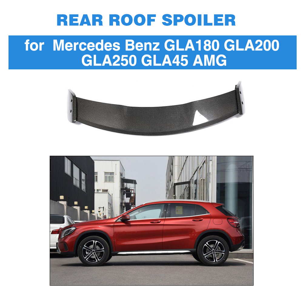 Rear Roof Spoiler Wing For Mercedes Benz GLA Class CLA200 CLA250 CLA45 AMG Base Sport 2013 - 2018 Carbon FiberRear Roof Spoiler Wing For Mercedes Benz GLA Class CLA200 CLA250 CLA45 AMG Base Sport 2013 - 2018 Carbon Fiber
