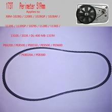 Конвейерные ленты для хлебопечки 173T по периметру 519 мм детали для хлебопечки Запчасти для кухонной техники ремни для хлебопечки
