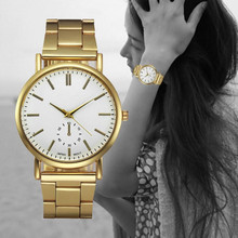 9s & cheap Hot Fashion luxury Women Crystal Stainless Steel Analog Quartz Wrist Watch  High Quality Watch #320717