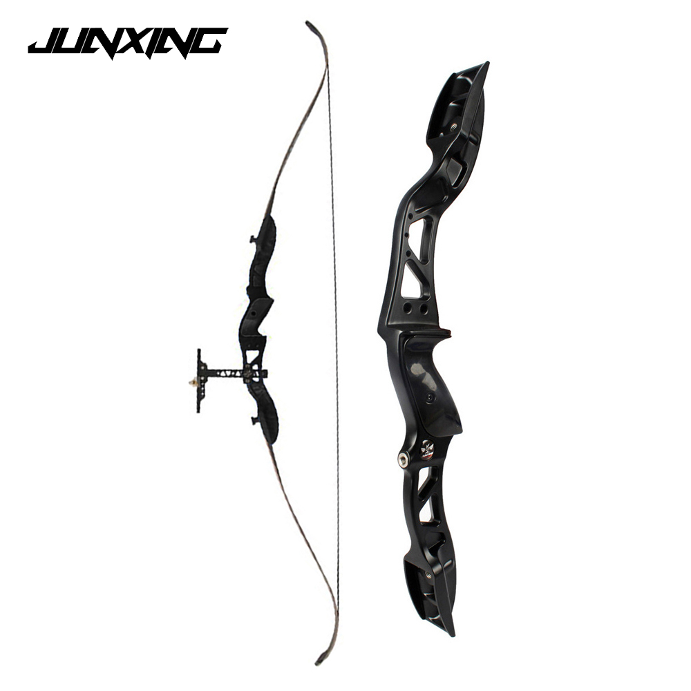 16-38 Lbs Recurve Bow 66 Inches With Arrow Sight And Arrow Rest For Right/Left Hand User Archery Hunting Shooting