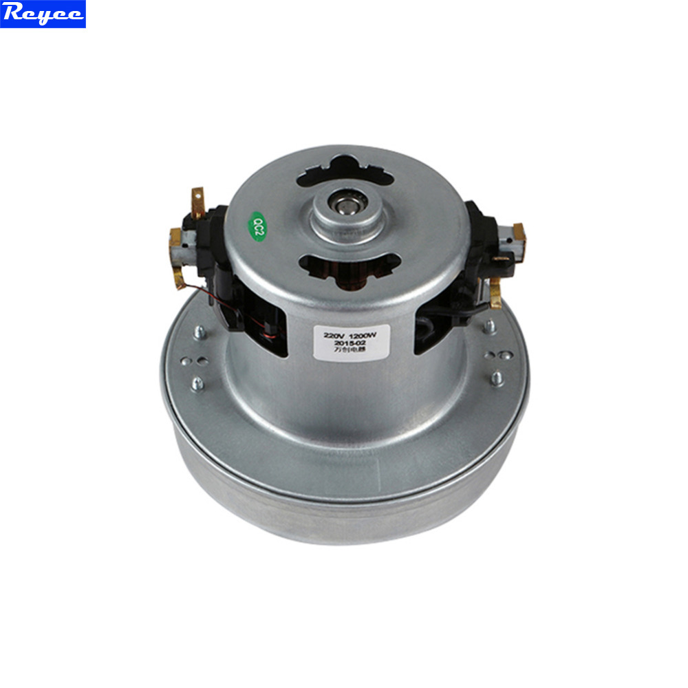 все цены на 220V 1200W low noise copper motor 130mm diameter of vacuum cleaner accessories with high quality for FC8344 FC8338 FC8336 онлайн