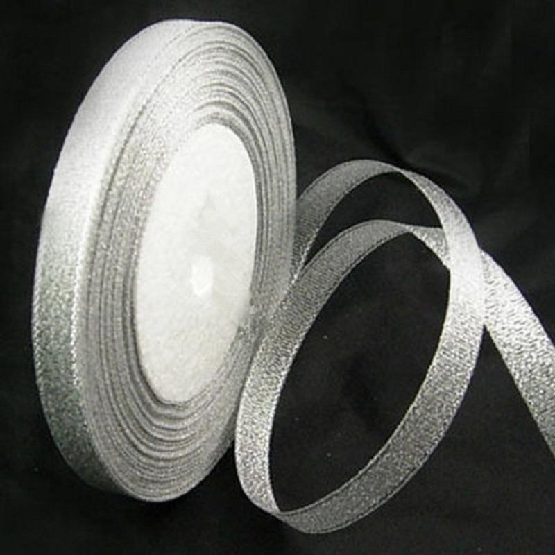 25 Yds Black Satin Edge Organza Ribbon 10mm Wide