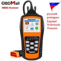 Top Rated OBD2 Car Diagnostic Scanner NEXPEAK NX501 OBD 2 EOBD Auto Diagnostic Scanner Engine Code