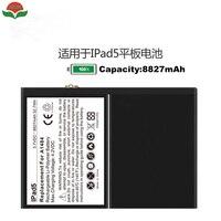 ISUN 2pcs Lot 0 Cycle Original Quality 8827mAh Li Ion Internal Battery Replacement For Ipad 5