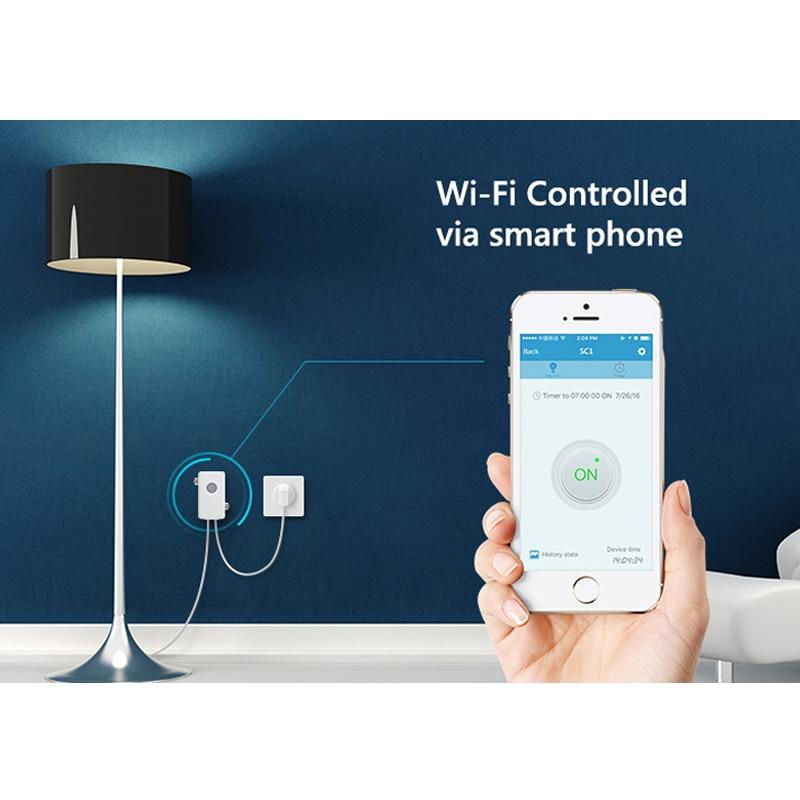 Broadlink SC1 WiFi kontrolleri lüliti Nutikas koduautomaatika - Nutikas elektroonika - Foto 3