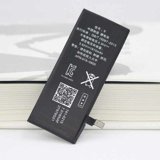ISUNOO 5PCS/Lot 1810mAh Polymer Batteries Replacement for Apple iPhone 6 6G Internal Battery with Gift