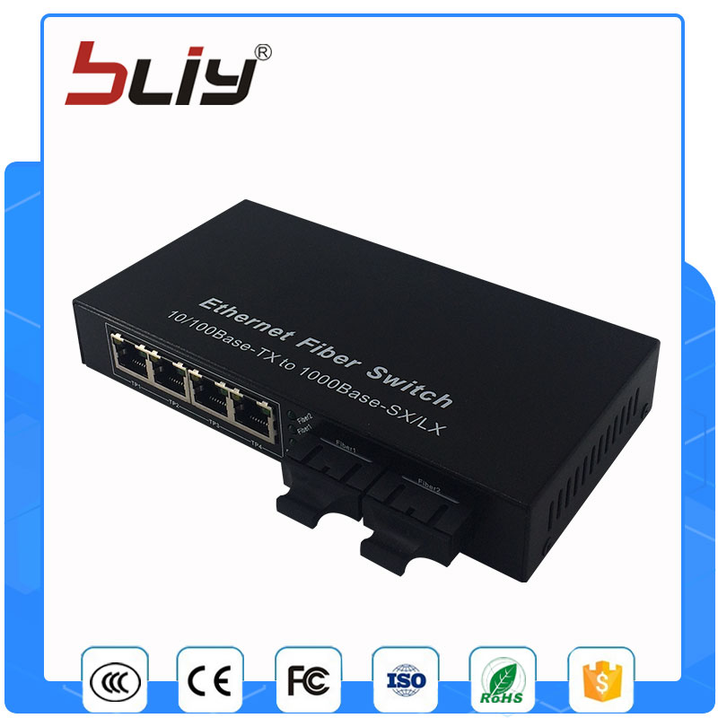 2G4FEP poe power supply gigabit poe switch 4 poe port poe injector with 1 gigabit fiber port cctv 4 port 10 100m poe net switch hub power over ethernet poe