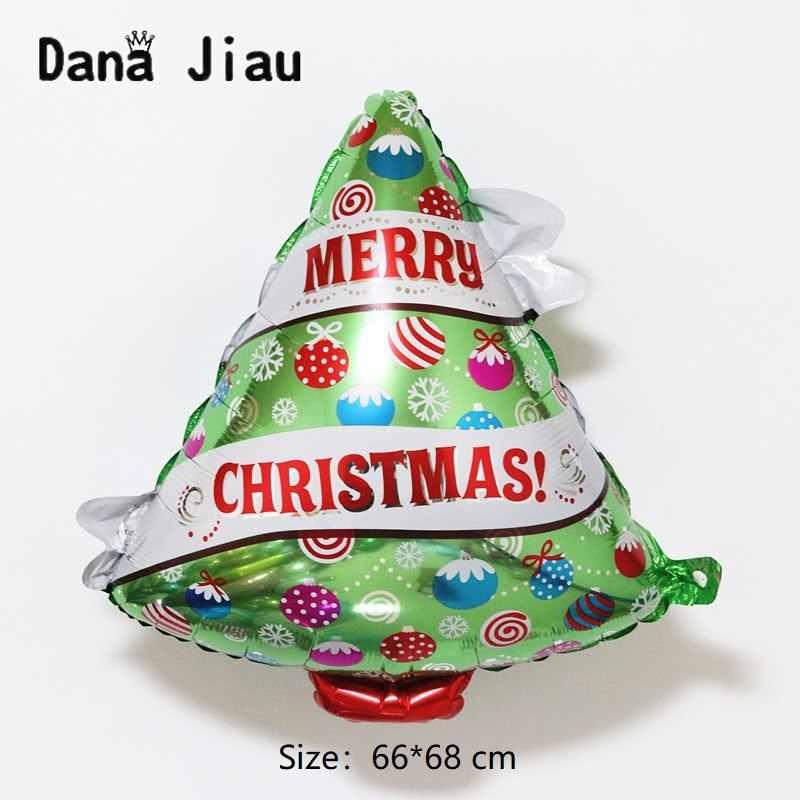 2019 Рождественское украшение шар Новогодний подарок для ребенка вечерние DIY Дерево баллон мальчик Санта Клаус Снеговик hand stick мяч