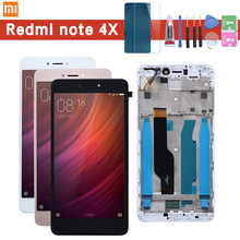 For Xiaomi redmi note 4X note4X note 4 Global Version Snapdragon 625 3GB 32GB LCD Display + Touch Screen Digitizer With Frame(China)
