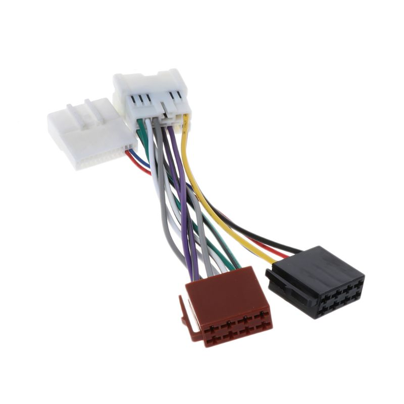 US $4.11 18% OFF|2019 New ISO Wiring Harness Connector Adaptor For on