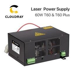 Cloudray 60W CO2 Laser Voeding Voor CO2 Lasergravure Snijmachine HY-T60 T/W Plus Serie Met lange Garantie