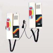 XinSiLu Новое поступление домашняя охранная система внутренней связи 2-проводной DC видео-телефон двери, легкая Самостоятельная установка, 200 м расстояние