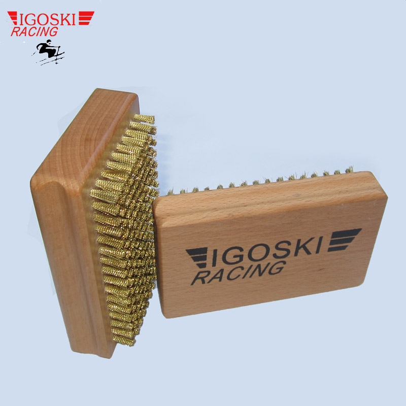 Igoski Ski And Snowboard Waxing Brass Brush