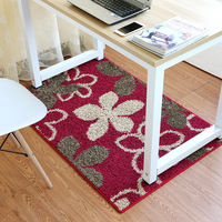 Flower Door Mats Washable Bath Mats For Bathroom Kitchen Area Rug Water Absorption Floor Carpet For Living Room Table Chair Rugs