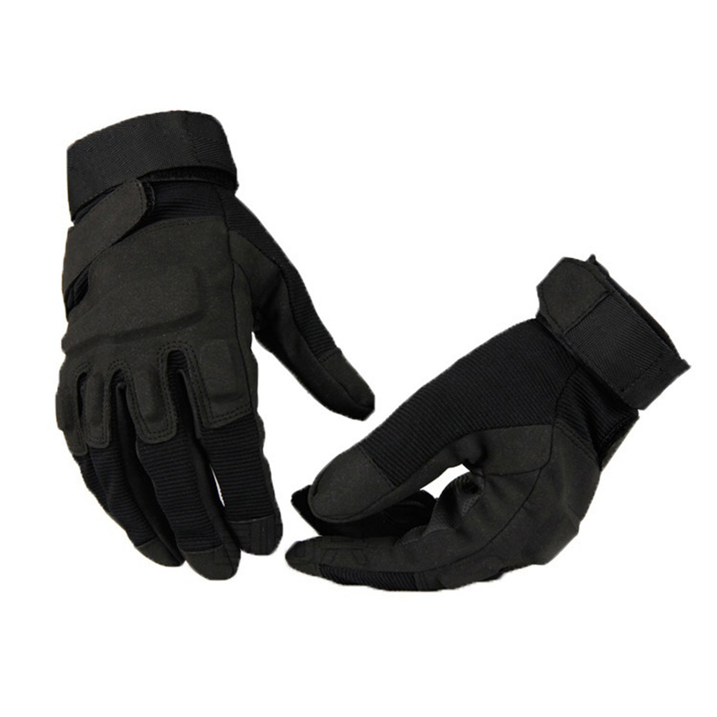 Military Tactical CS Gloves Full Finger OPS Motorcycle Gloves SWAT Mens Special Forces Police Duty Gloves Anti-Slippery Gloves