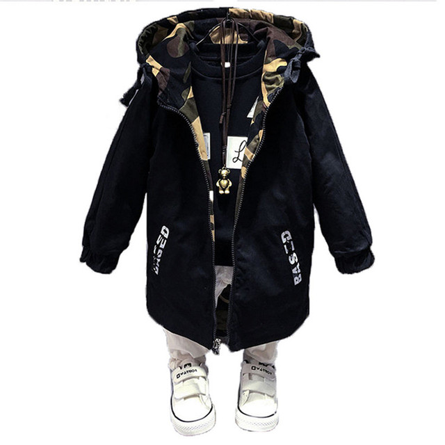 Для маленьких мальчиков одежда От 4 до 13 лет куртка для мальчиков Весенняя верхняя одежда для мальчиков для Для детей пальто с капюшоном модная ветровка для мальчиков