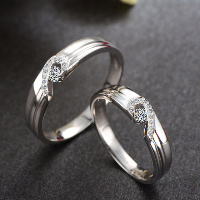 18ct Gold Diamond Set Rings Wedding Bands Engagement For Men Women Free Dhl Shipping