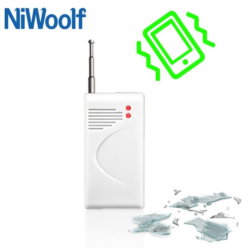 Hot Selling Free Shipping Wireless  Vibration Sensor Shake Sensor  For Home Alarm System Available To Prevent Vibration