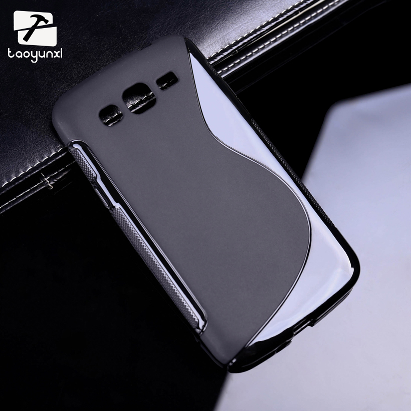 TAOYUNXI Sline Soft TPU Silicon Phone Case For Samsung Galaxy Grand 2 Duos G7106 G7102 G7105 G7108 Cover Phone Accessories image
