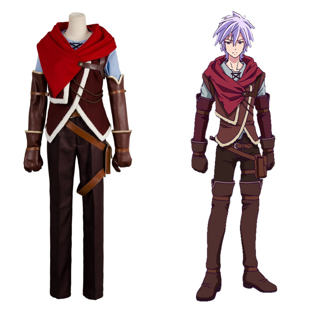 No Game NO Life Zero Riku Outfit Cosplay Costume For Adult Women Men Halloween Carnival full set costume