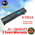 Wholesale Laptop Battery For Toshiba Satellite A100 A105 A80 M40 M50 series PA3399U-2BAS PA3399U-2BRS 6-CELLS Free shipping
