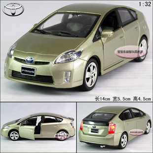 New 1 32 Toyota Prius Alloy Cast Model Car With Sound Light Champagne B200d