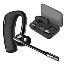 V8 стерео гарнитура Беспроводной Бизнес Bluetooth наушники водитель автомобиля Громкая связь Bluetooth гарнитура с коробка для хранения