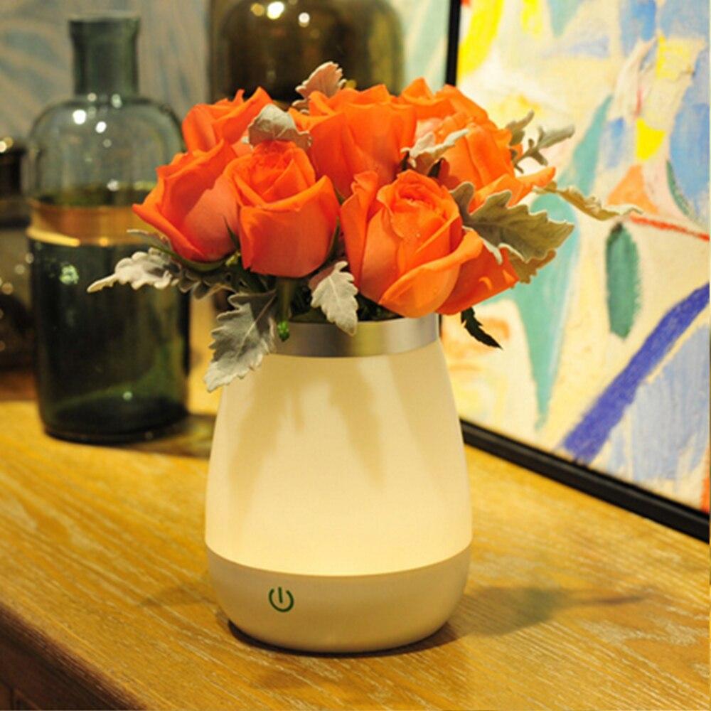3 mode table lamps for living room beautiful vase desk lamp abajur para quarto creative waterproof