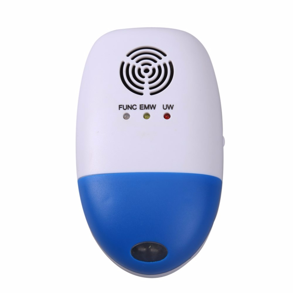 Electronic Ultrasonic Pest Repeller Electronic Mouse Pest Repeller Mice Rat Anti Repeller Pest Control Reject Non-toxic 110-250V rat catcher spring cage new 1 pieces trap outdoor humane live indoor animal rodent pest control mice cage garden home house