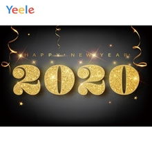 Yeele 2020 New Year Family Carnival Party Christmas Photography Backdrop Personalized Photographic Backgrounds For Photo Studio