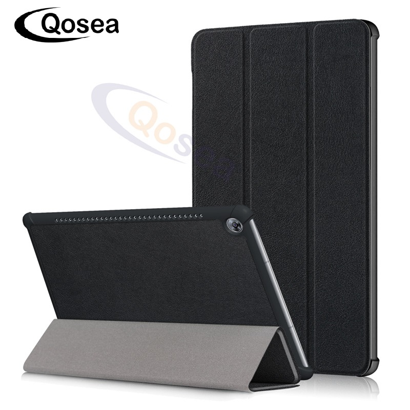 Qosea Aimant PU En Cuir Pour Huawei Mediapad M5 10.8 pouce Smart Cas de Stand Tablet PC Pour Mediapad M5 10.8 pouce Stand Retour couverture