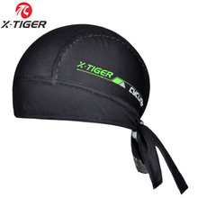 X-tiger 6 cores 100% poliéster respirável ciclismo headwear/verão bicicleta ciclismo cachecol bandana/mtb bicicleta bonés headbands