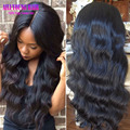 4x4 Silk Top Full Lace Wigs Body Wave Peruvian Virgin Hair Silk Top Lace Front Wig Glueless Full Silk Base Wigs With Baby Hair