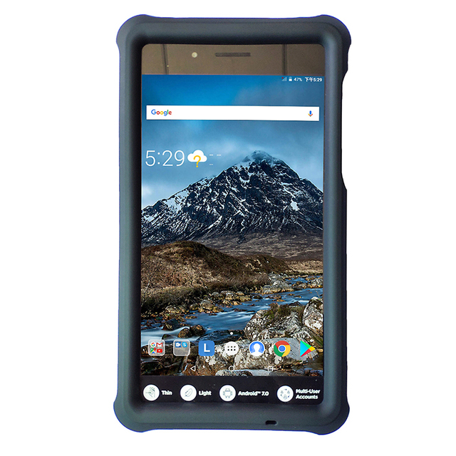 new product e0f36 49ec1 US $12.86 14% OFF|Mingshore Tab 4 7 Essential 7.0 Rugged Silicone Saft  Cover Case For Lenovo Tab 7 Essential TB 7304F/N/X/I Tablet Shockproof  Case-in ...