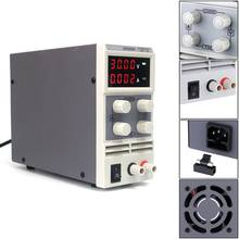 KPS305DF Mini 30V 5A Adjustable DC Power Supply EU LED 4 Digits Switching Power Supply Lab(China)