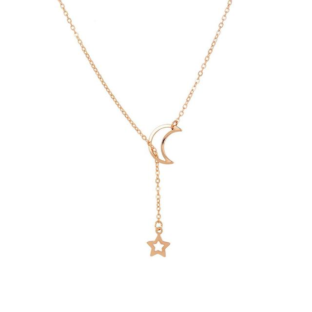 Jewelry Moon Necklace Women...