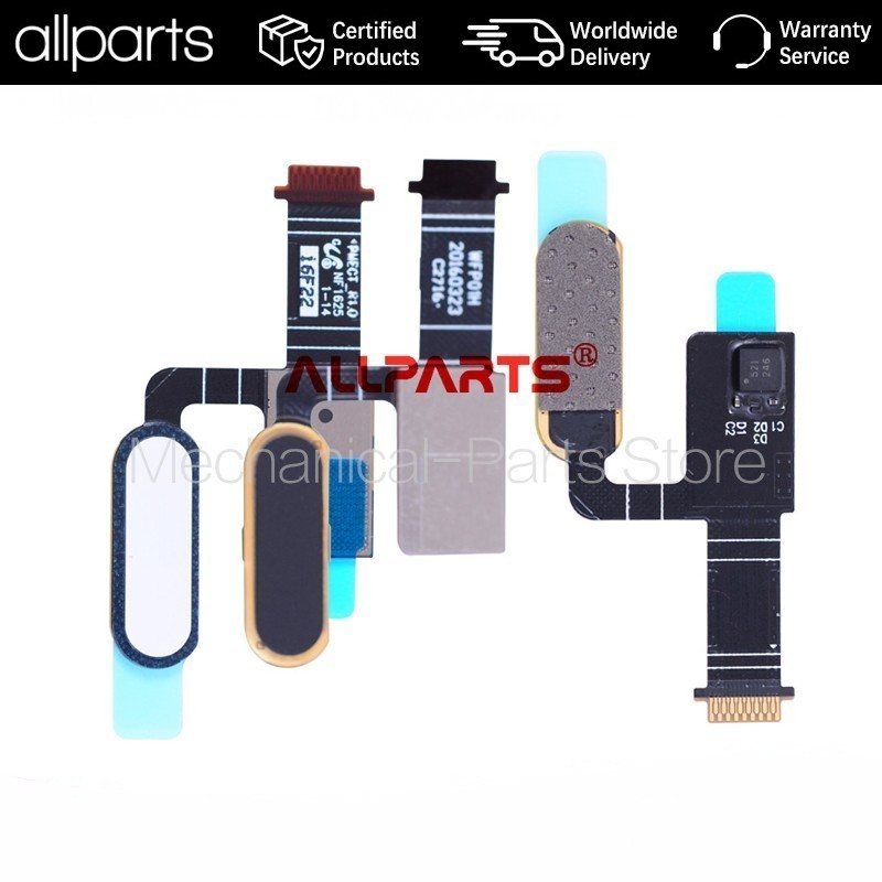 TESTED AAA Fingerprint Sensor Touch ID Flex Cable for HTC ONE M10 Menu Return Home Button Flex Cable Replacement