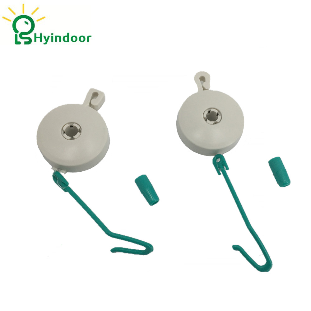 10pcs Lights Lifters Plant Yoyo With Stopper Hydroponics Grow Lights Reflector Hanger Retractable(5 Pairs)
