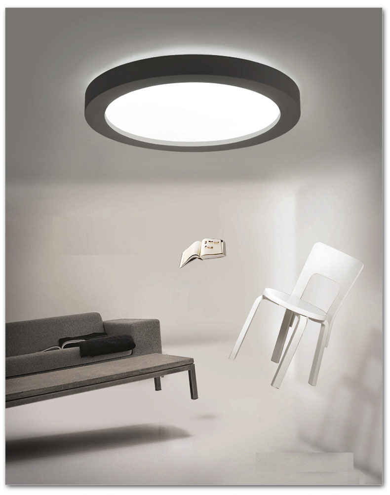 Hot sales Creative simple geometric modern art LED round Ceiling lamp  balcony aisle bedroom living room