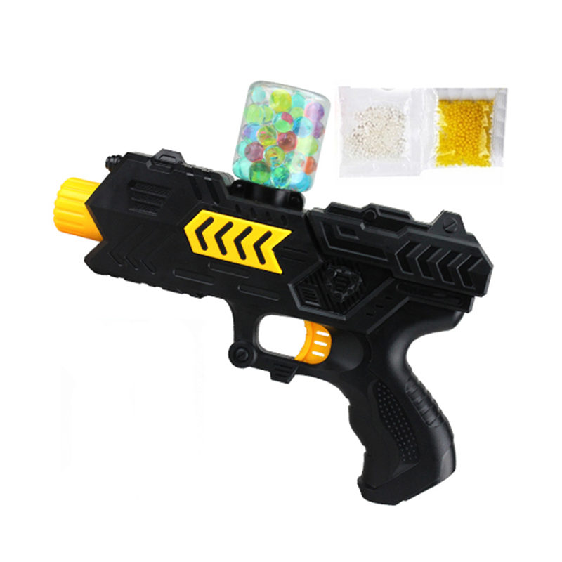 Children Toy Colored Soft Crystal Water Paintball Gun Bullet Grow Bead Water Gun Soft Bullet Gun Pistol For Kid Toy TSLM1