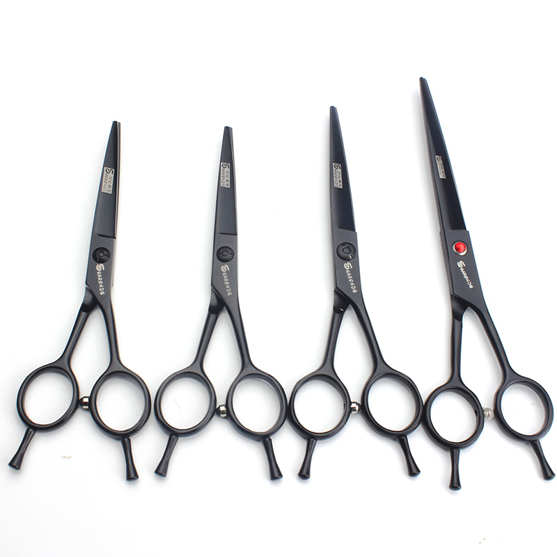 A-shaped hairdressing scissors 4.5 inch 5.5 6 7 salon professional set flat